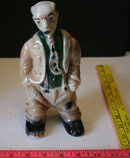 Vintage Ceramic Hobo/Used car salesman Bank