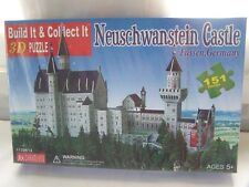 New Neuschwanstein Disney Castle 3D Puzzle 151 Pieces Fussen Germany