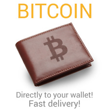 Bitcoin 0.0001 BTC directly to your wallet! Fast Delivery
