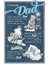ME TO YOU TO AN AMAZING DAD BIRTHDAY CARD TATTY TEDDY BEAR NEW GIFT