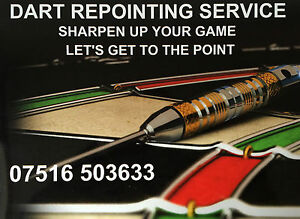 DART REPOINTING SERVICE AVAILABLE - QUALITY RELIABLE SERVICE  - FAST TURNAROUND