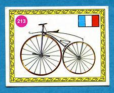 SPRINT '72 - PANINI - Figurina-Sticker n. 213 - DRAISINA A PEDALI - FRA 1855-Rec