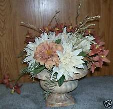 Fall floral arrangement in a vase