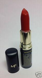 Max Factor Moisture Rich Lipstick PEACH FLAMBE #606 NEW.