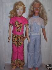 Ng Creations Sewing Pattern #4 Fitted Pants & Top Pattern fits My Size Barbie