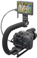 Stabilizing Pro Grip Bracket for JVC Enviro GZ-EX200 GZ-E10 GZ-VX815 GZ-GX1