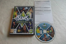 THE SIMS 3 Supernatural Expansion Pack PC/Mac DVD v.g.c. POST VELOCE COMPLETO