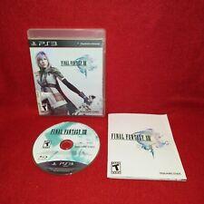 Final Fantasy Xiii (Sony PlayStation 3 Ps3, 2010)