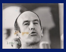 FOTOGRAFIA PRESS PHOTO VINTAGE PARIGI 1972 VALERY GISCARD D'ESTAING