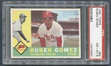 1960 Topps #82 Ruben Gomez (Phillies)  PSA 8  (Flat Rate Ship)