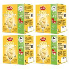 EasiYo Banana Mini - 500g -Multipak -4 boxes (12 Sachets) Best Before Dec 2017