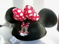 DISNEY MINNIE MOUSE EARS HAT NEW ADULT (F3)