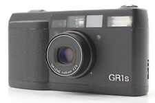 NEAR MINT Read RICOH GR1s  Black Point & Shoot 35mm Film Camera From JAPAN #F230