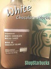 Starbucks White Chocolate Mocha Syrup/Sauce FRESH/New Exp:10/31 FAST/FREE SHIP!!