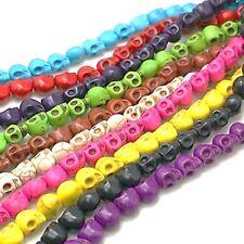 Calavera Howlite Mezclados Sintético Perlas 40 piezas 9 mm