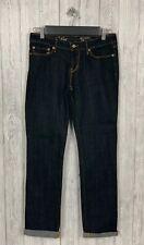 "LEVIS Demi Curve Straight Jeans 28"" W 32"" L Black Pockets"