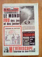LE HERISSON n°1832 - 1981 - Humour - Jean Rignac - Le monde fou des jeux