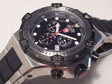 CX SWISS MILITARY WATCH CONGER PROFESSIONAL 2000M DIVER CHRONOGRAPH, 48 MM CASE