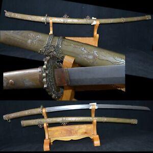 Collectable Handmade Japanese Samurai Katana Tachi Sword Full Tang Sharp blade
