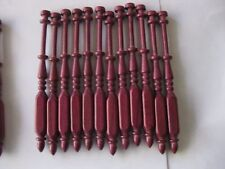 "12x bobbin lace bobbins 4.5"" square in Purple Heart that do not roll on pillow"