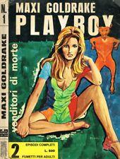 MAXI GOLDRAKE. PLAYBOY anno 1 n.1