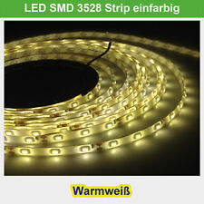 LED strip patrulla smd2835 warmweiss 5m 60 LEDs/m impermeable 12v nuevo