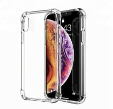 for Apple iPhone XS Shockproof Transparent Clear Bumper Cover Phone Case