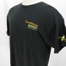 Even Williams Honey Reserve Whiskey Mens T-Shirt All Flavor No Sting Black XL
