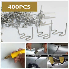 400X Standard Pre Cut 0.8mm Wave Hot Staples FOR PLASTIC STAPLER REPAIR Welder