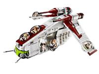 LEGO MEGA BLOKS COMPATIBIL100% Star Wars ☆ 1220 pz►MOC GUNSHIP REPUBLIC◄BULKBOX►