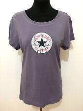 CONVERSE shirt T-Shirt Woman Cotton Cotton Woman t-shirt Sz. M - 44