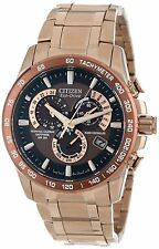 Citizen Men's AT4106-52X  Eco-Drive Perpetual Atomic Synchronization Dress Watch
