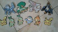 Lot de 10 décoration de chambre   Pokemon en mousse