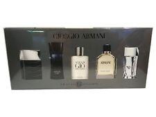Giorgio Armani 5 PC Mini Cologne Set for Men