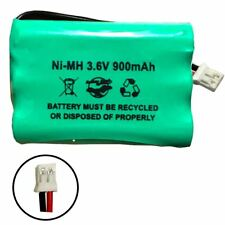 3.6v 900mAh Ni-MH Battery Pack Replacement for Video Baby Monitor