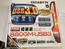 GIGABYTE GA-880GM-USB3 AM3 AMD 880G HDMI USB 3.0 Micro ATX AMD Motherboard