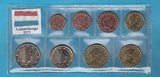 Lussemburgo Luxembourg  Serie Completa Euro 2011 FIOR DI CONIO FDC 8 Valori in €