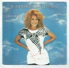 "DALIDA Vinyle 45T 7"" KALIMBA DE LUNA Vers. Anglaise Française CARRERE 13604 RARE"