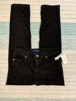 Charter Club Black Petite Jeans Slim Leg Flawless Stretch Womens Size 4P NEW