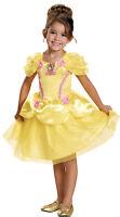 Belle Toddler Classic Child Girls Costume Disney Princess Yellow Dress Disguise