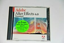 adobe after effects 6.0 with user guide