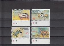 TIMBRE STAMP  4 ILES GRENADINES Y&T#101-04  CRABE NEUF**/MNH-MINT 1977 ~A24