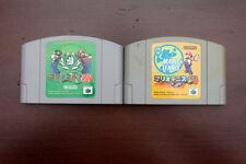 Nintendo 64 Mario Tennis + Golf Japan import N64 Game