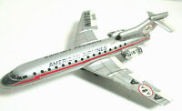 American Airlines 727 Astro Jet N1970 Tin Friction Toy Airplane ICHIKO Japan