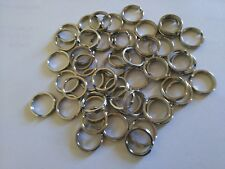 SPLIT RINGS 6mm 304 STAINLESS STEEL x 100 Pk! MARINE GRADE