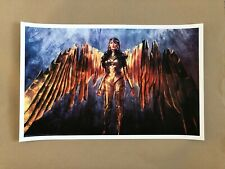Wonder Woman Variant B Giclee Print - Alice Zhang - NT Mondo x/100 Gal Gadot