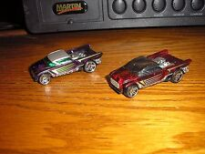 NICE Vintage Lot of 2 Hot Wheels Jester Custom Ford Ranchero Chevy El Camino