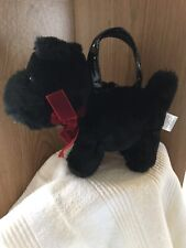 Gymboree Scottie Dog Plush Girls Small Toy With Handles