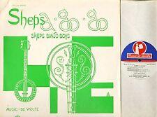 SHEPS BANJO BOYS sheps a go-go DW/LP 3146 uk music de wolfe 1969 LP PS EX/VG