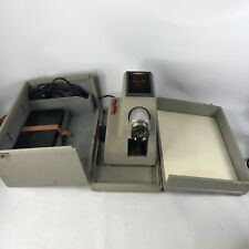 1959 Max Braun PA2 Vintage Slide Projector W/ Case Remote & More Made in Germany